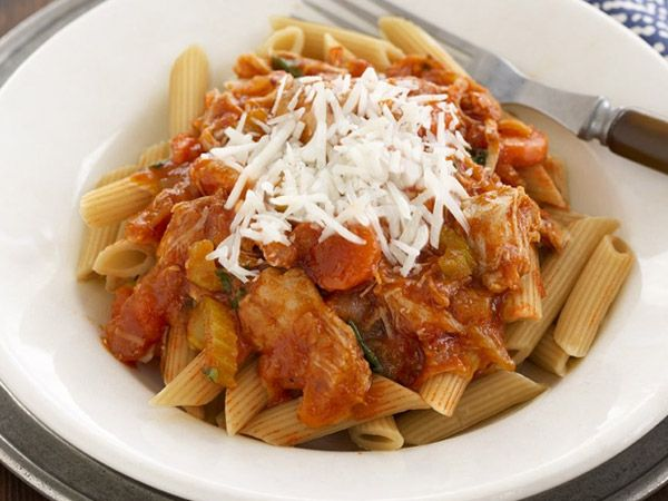 Recipes - Main Courses - Slow-Cooker Chicken Bolognese - Kraft First Taste Canada