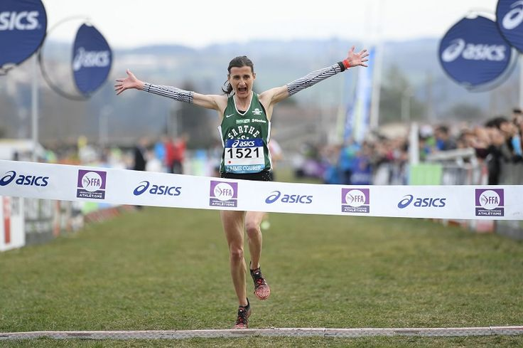Christelle DAUNAY championne France Cross 2017 St Galmier