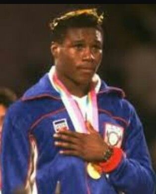 Meldrick Taylor, 1984 Olympic Gold medalist and 2 time World Champion.