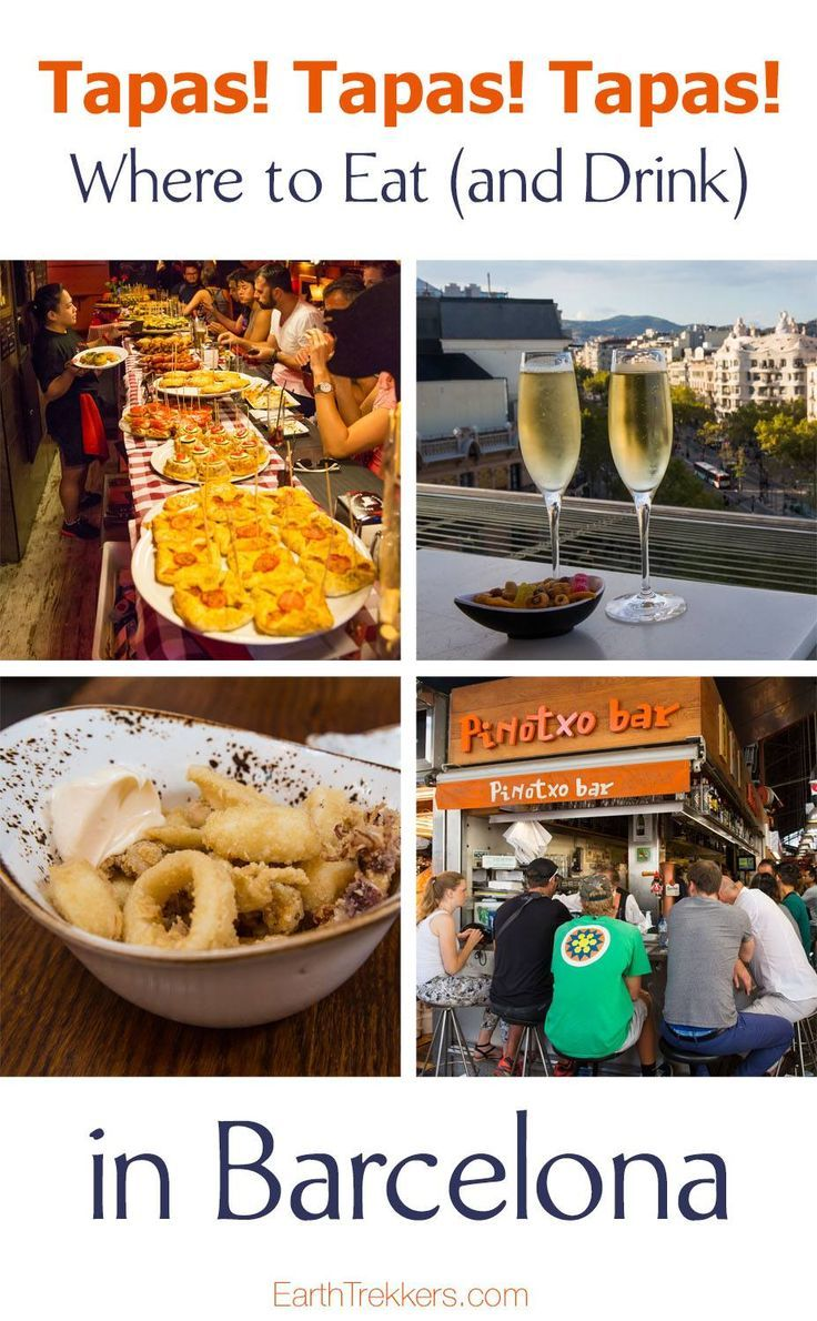 Barcelona: best rooftop bars and tapas restaurants in the city