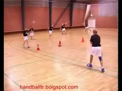 Handball shooting exercises - YouTube