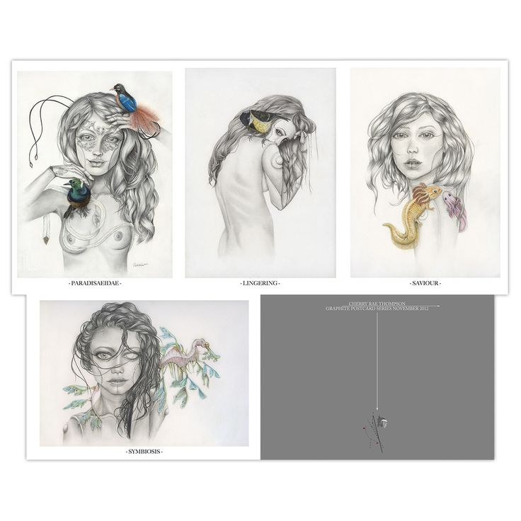 Li- Obviously, this is an example of series of postcard design. It is gorgeous and harmonious because of the colour scheme and sketching style.  Through four images, it displayed the figure of female with a graphic sequence from the front side to back side and then profile, finally goes back to the front side by close-up the face of female.