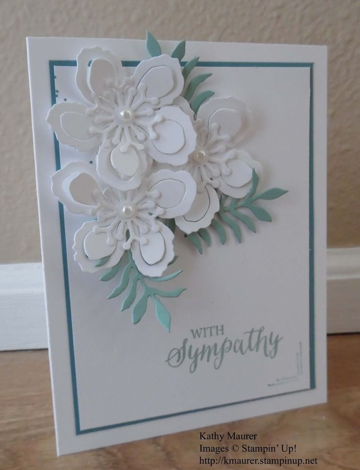 Kathy's Blog  Monday, April 18, 2016  Botanical Builder Sympathy Card Stampin ' Up! Botanical Builder Framelits, Gorgeous Grunge, Helping Me Grow, Rose Wonder
