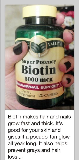 Biotin - good for hair and skin. just got some cant wait to see results!!