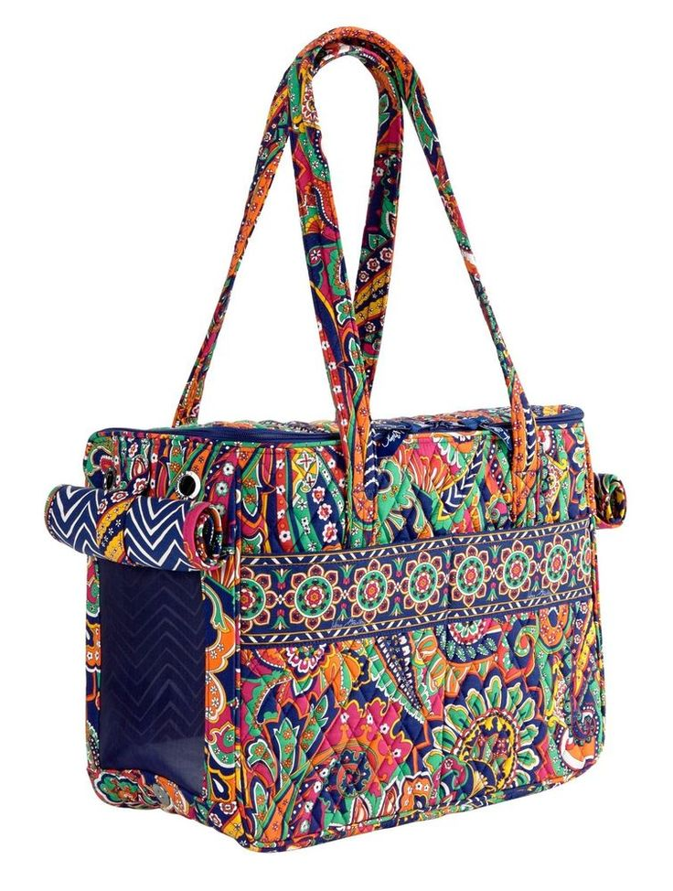 Vera Bradley Pet Carrier in Venetian Paisley #VeraBradley #PetCarrier