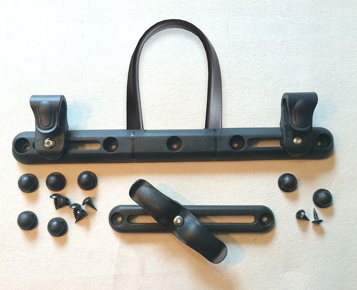 FUNFABRIC ::  Radtaschen Befestigung incl. kostenloser Anleitung für Fahrradtasche