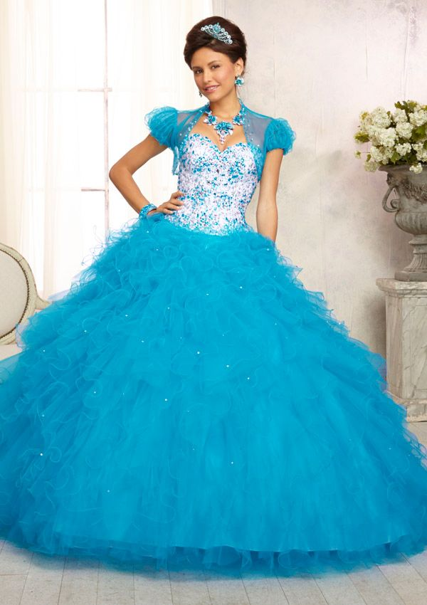 Charming Satin & Tulle Sweetheart Neckline Floor-length Ball Gown Prom Dress