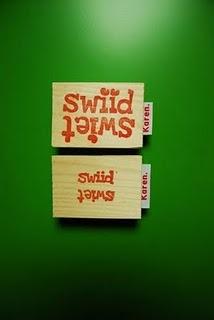 #stamp #stempel #zelfgemaakt #handcarvedstamp #handgesnedenstempel #logostamp #logo #logostempel #swiidswiet