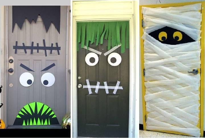 ~ Halloween door decor ~