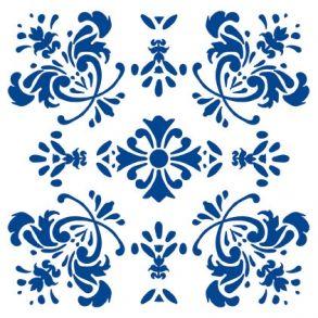 Romantic Flower - Blue - Transparent. Price 6,5 € Romantisk Blomst - Blå - Gennemsigtig folie Pris 45 dkk.