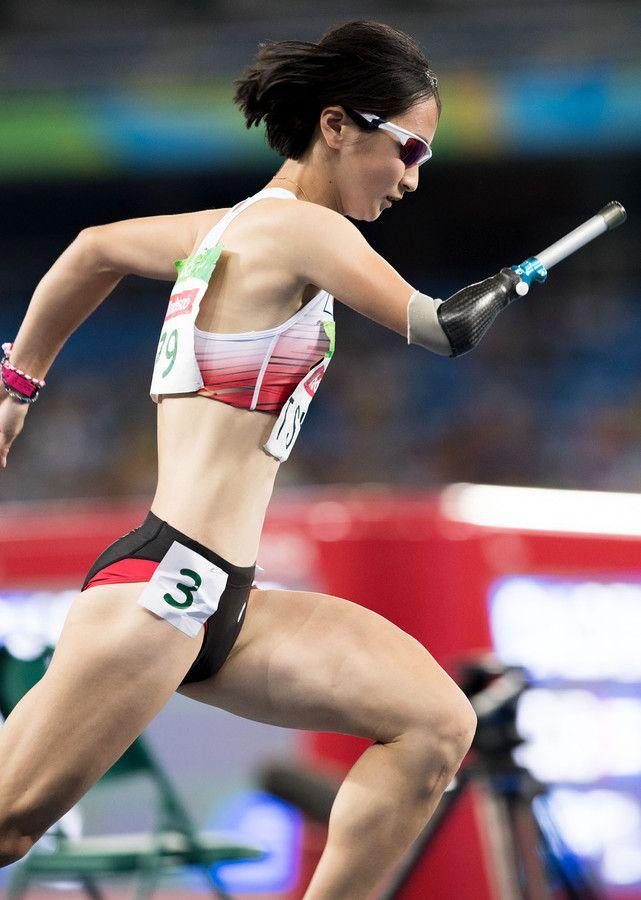 400mで辻沙絵が銅メダル! #リオ五輪 #パラリンピック