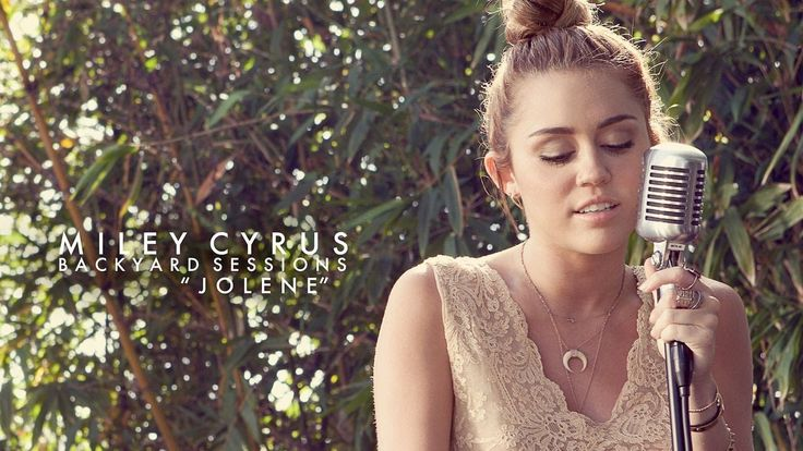 Jolene Cover by Miley Cyrus (Lyrics on screen)