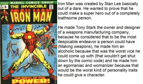 Useless comic book trivia fact of the day