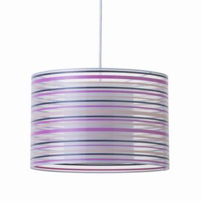 Litecraft Balfour Striped Pendant Shade Ceiling Light- at Debenhams.com £19