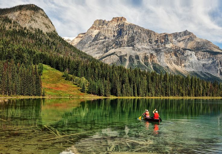 Emerald Lake Moment , B.C, Candada by Jeff Clow on 500px