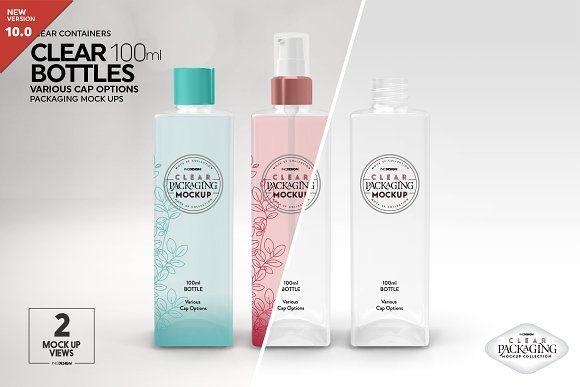 Download Clear 100ml Pet Bottles Mockup Free Packaging Mockup Design Mockup Free Psd Mockup Template