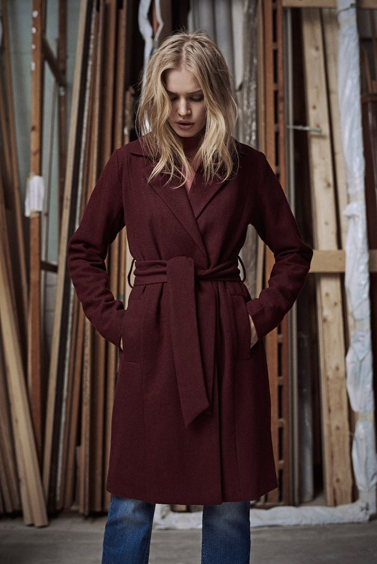 Prepare for the cold!  ... and yes, you should be excited! Burgundy love <3