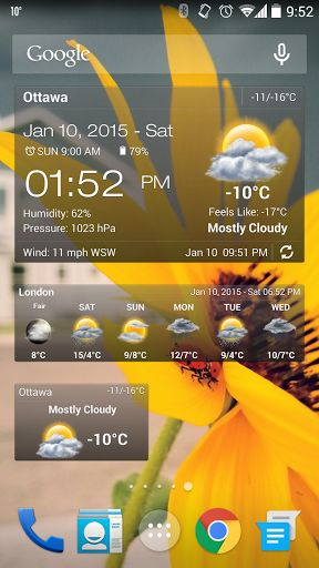 Weather&Clock Widget Ad Free v3.9.0.1   Weather&Clock Widget Ad Free v3.9.0.1Requirements:2.3Overview:Ad free the quick and accurate weather app provides detailed weather for all cities worldwide it searches your address and locates cities quickly and provides the current temperature current weather condition humidity and wind speed and direction in addition five ten days and hourly weather forecast. NOT ALLOWED Ad free comes with many cool widgets portrait and landscape user interface.  Ad…