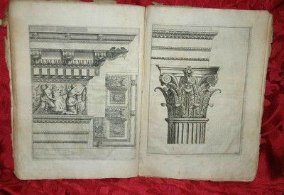Antique Rare Architecture Book 1648 L'Architettura del Vignola   Price:US $1,990.00 Buy It Now       Best Offer:  Make Offer