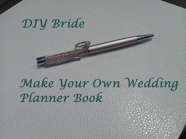 Make Your Own Wedding Planner Notebook Includes Free Printables