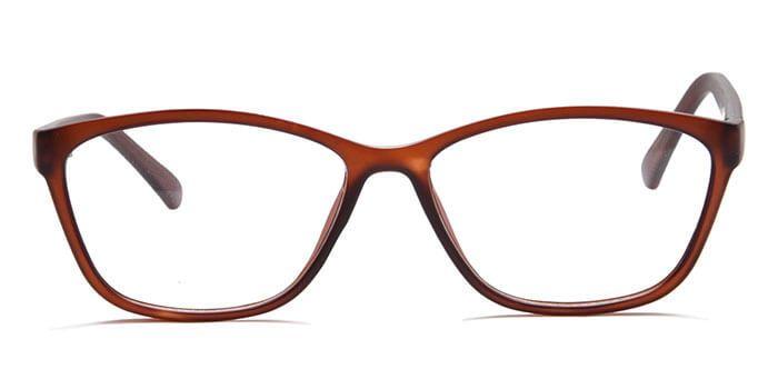 d9f103f40ae Xstyl E33B4991 Wine Full Frame Square Eyeglasses for Men and Women ...