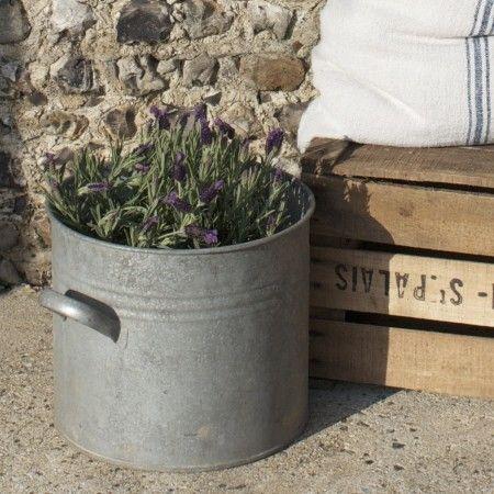 Design Vintage | Vintage Zinc Planters | French Planter