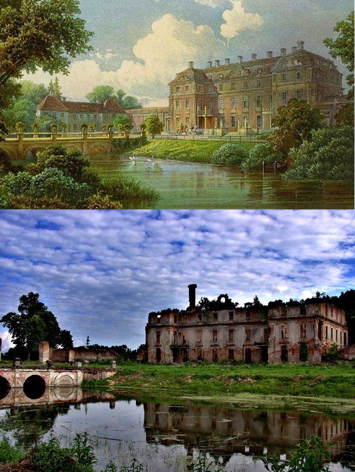 Schlobitten Palace 1696-1945 #ghostsofeastprussia