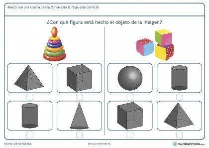 Ficha de volúmenes para primaria