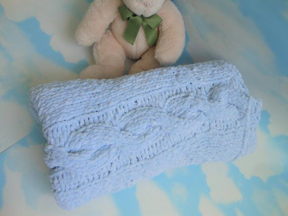 Hey, I found this really awesome Etsy listing at https://www.etsy.com/uk/listing/493914512/super-soft-baby-blanket-chunky-pale-blue