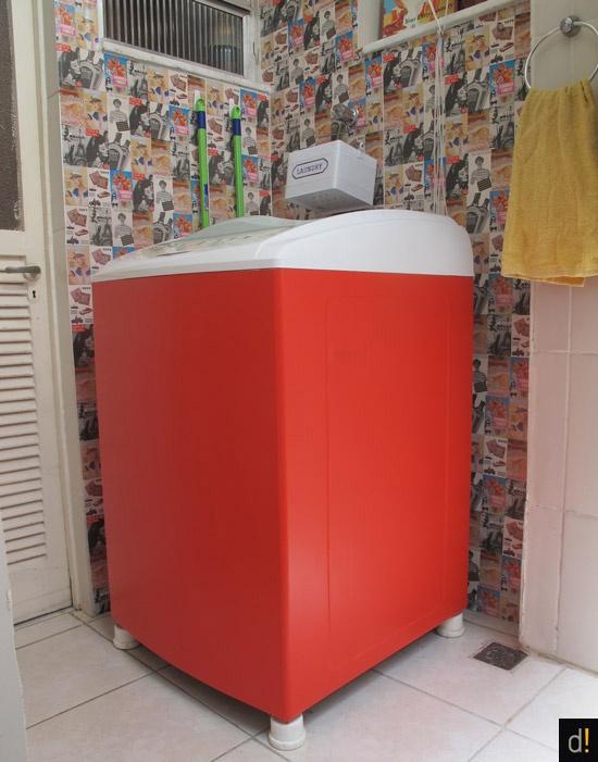 Decorviva: FAÇA VOCÊ MESMO - adesivagem na maquina de lavar