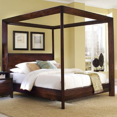 Home Image Island Canopy Customizable Bedroom Set