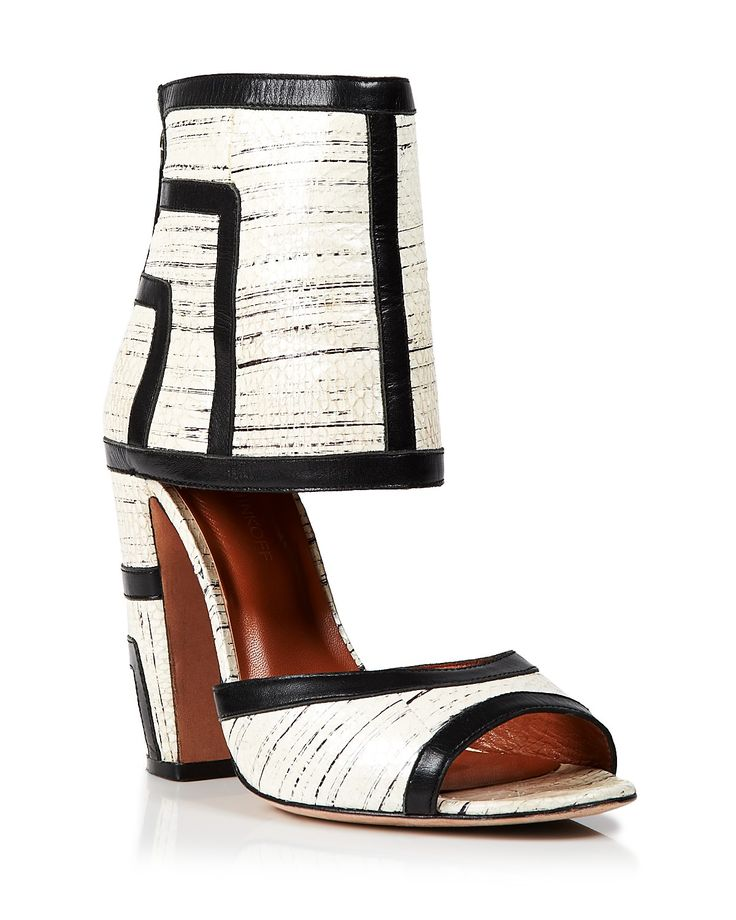 Rebecca Minkoff Ankle Strap Zip Up Sandals - Marley High Heel |  Bloomingdale's