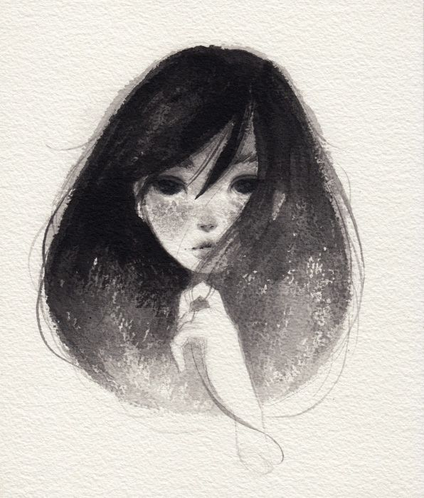 Art of May Ann Licudine, looks so delicate, almost fragile