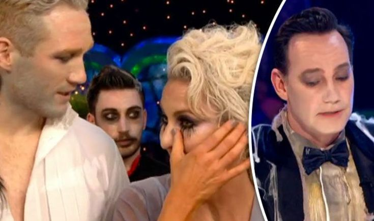 STRICTLY COME DANCING professional Natalie Lowe was left in tears tonight after judge Craig Revel Horwood criticised her choreography of Greg Rutherford's rumba.