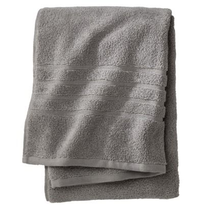 Fieldcrest® Luxury Bath Towel Skyline Gray Luxury