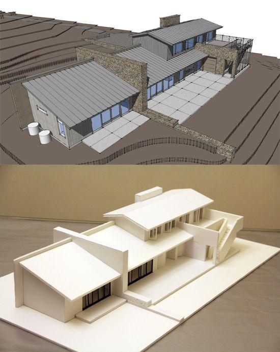 Delightful Low Cost Modern House Challenge Model By Helena Tse