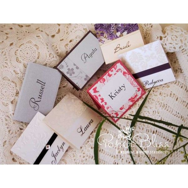Assorted Placecards