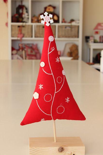 MI HOGAR DE PATCHWORK: ARBOL DE NAVIDAD - CHRISTMAS TREE (3) - NAVIDAD 2012