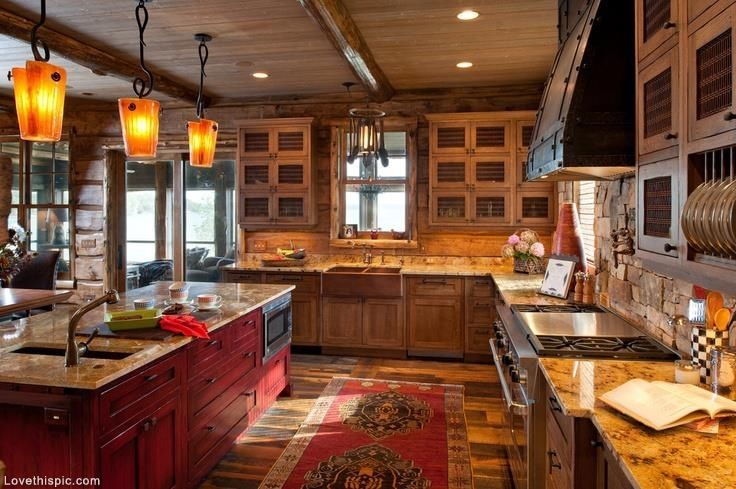 Beautiful large kitchen home inspire kitchen decorate for Kitchen ideas tumblr