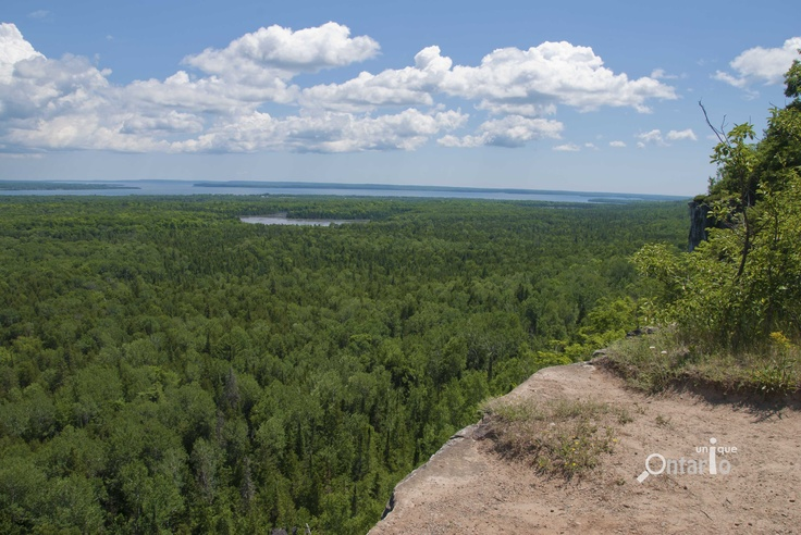 Cup and Saucer Hike, Manitoulin Island