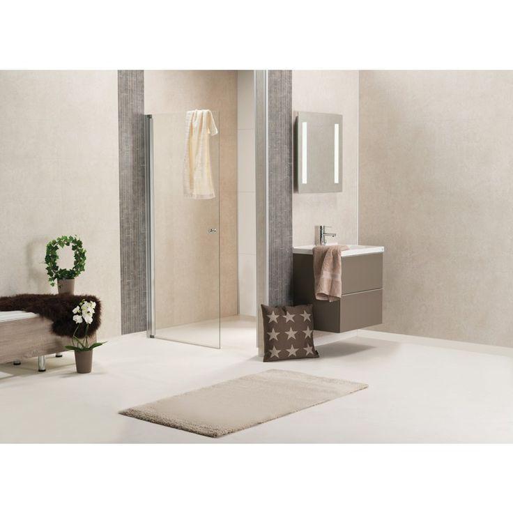 Bathroom panels Bauhaus Våtrumspanel Sahara