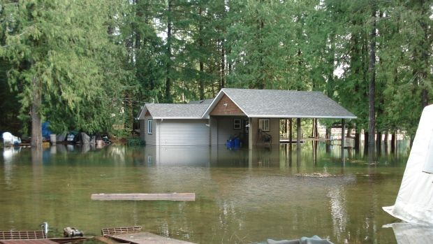 Sproat Lake resident Terri St. Jacques says not only her property, but numerous homes on the lake, have damages including basements,  septic systems and docks.