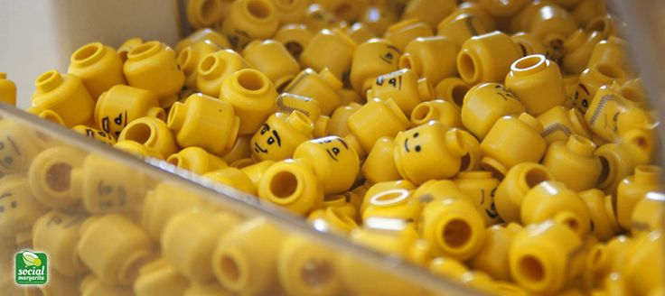 Per non perdere la testa ... #lego heads #geek #socialmargarita #mixyorlife #socializeresponsibly