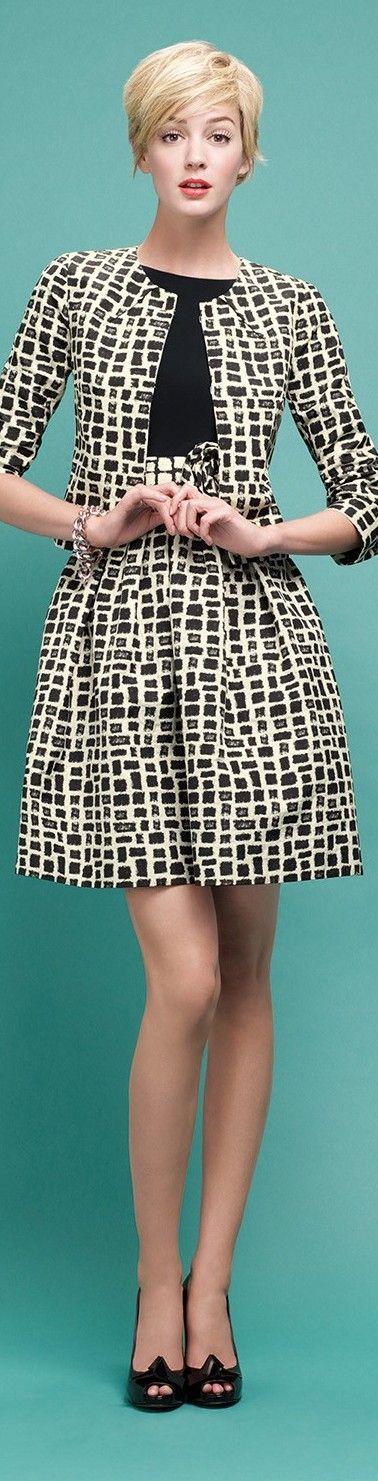 Paule Ka women fashion outfit clothing style apparel @roressclothes closet ideas