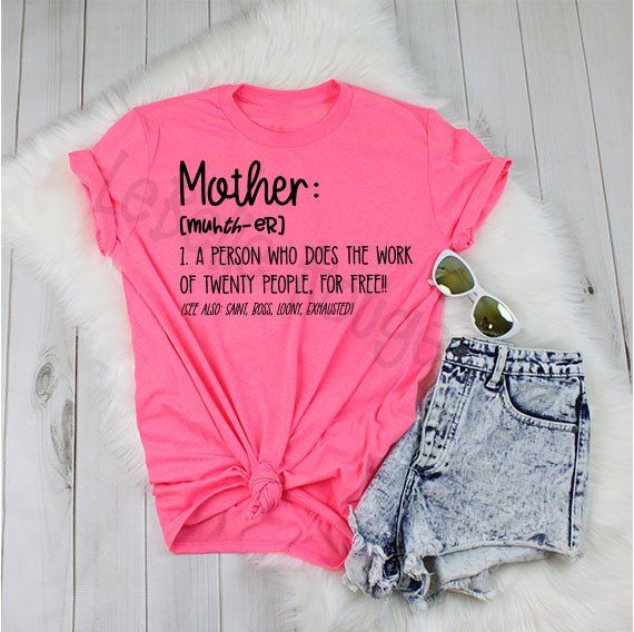 fd3fcf0a Mom shirt, definition of a mother Tee, funny mom shirt, mom life shirt,  tired mama t-shirt, gifts for her, Mother's Day gift
