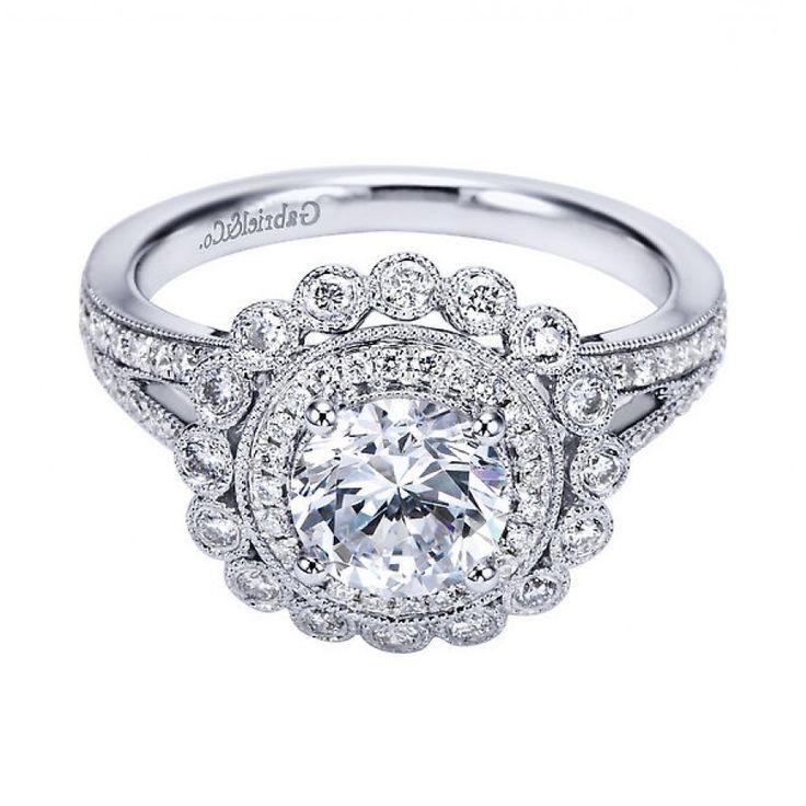 Vintage Looking Wedding Rings 107
