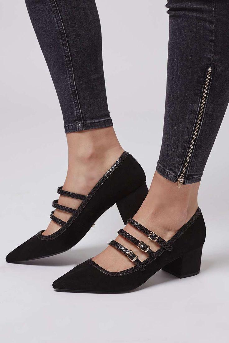 JENSEN Buckle Mid Shoes