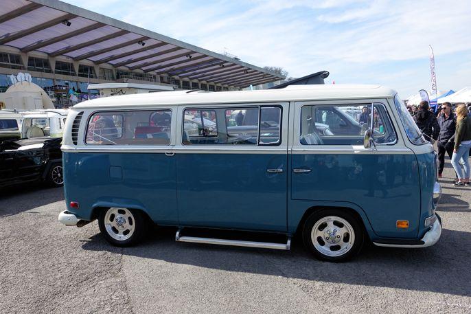 Volkswagen Bus T2.  #vwbus #vwmicrobus #volksworld #volksworld2017 #cars #biler #carspotting