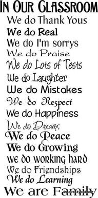 for the classroomFuture Classroom, Teachers Gift, In Our Classroom We Do, Schools, Quote, Classroom Signs, Education, Classroom Rules, Classroom Ideas