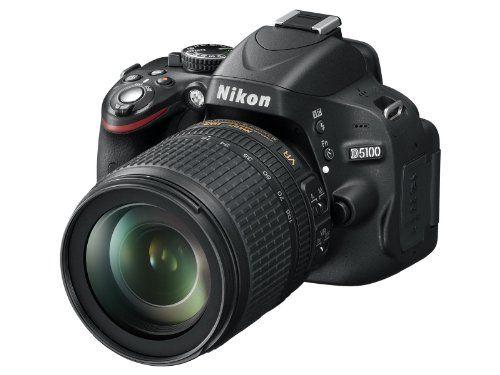 Nikon D5100 SLR-Digitalkamera (16 Megapixel, 7.5 cm (3 Zoll) schwenk- und drehbarer Monitor, Live-View, Full-HD-Videofunktion) Kit inkl. AF-S DX 18-105 mm VR (bildstb.) - http://kameras-kaufen.de/nikon/nikon-d5100-slr-digitalkamera-16-megapixel-7-5-cm-3-5